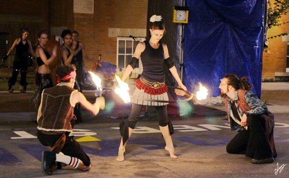 Edmonton Calgary Circus Performer Childrens Entertainer Hula Hoop Fire Dancer