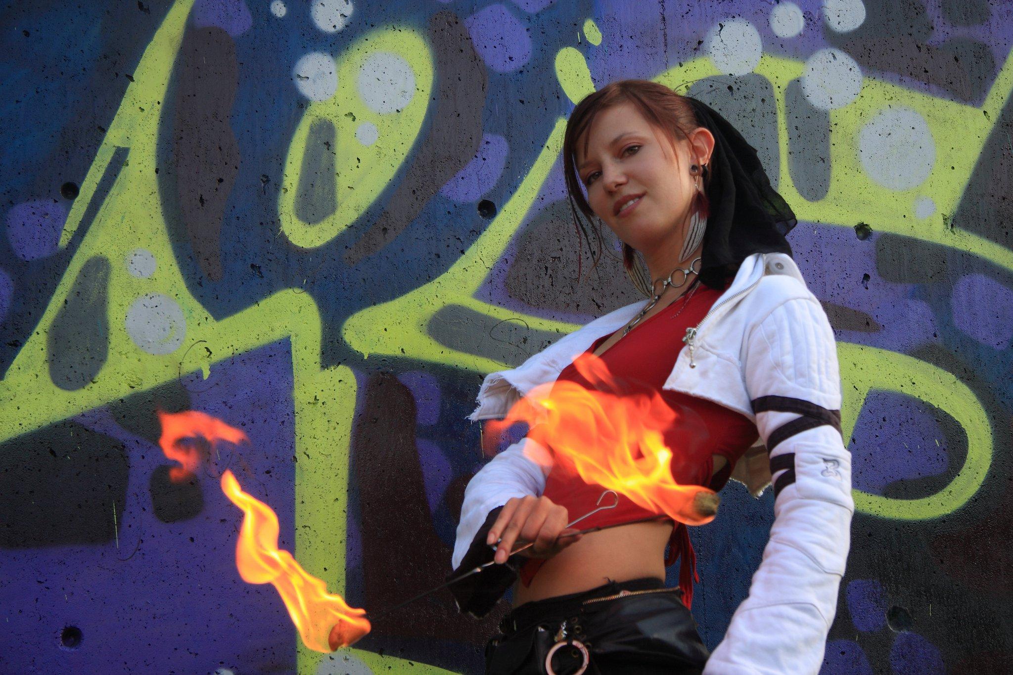 Edmonton Calgary Circus Fire Eater