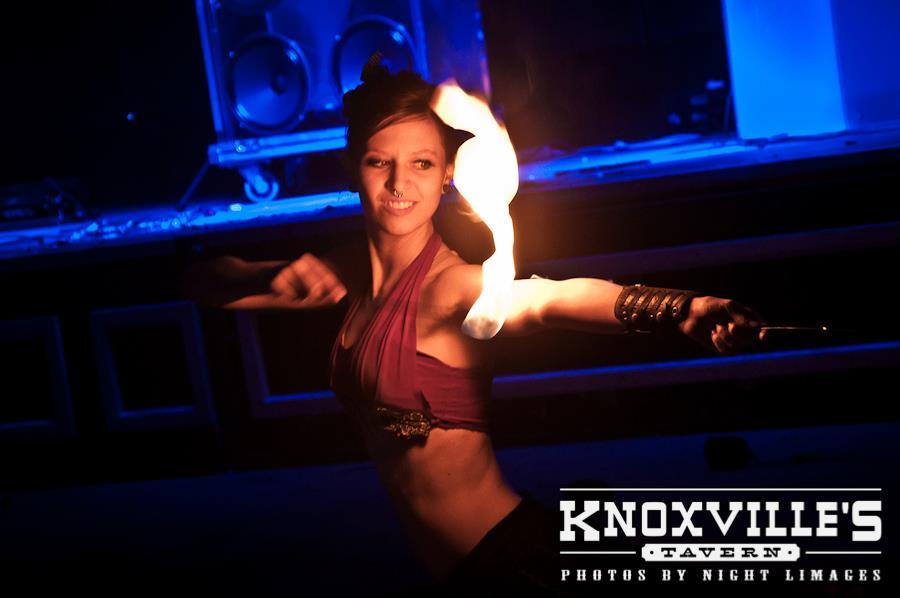 knoxvilles fire dancer